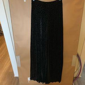 NWT Blackmilk velvet maxi skirt